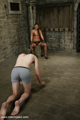 Photo number 2 from Lucy Lee and Jack shot for Men In Pain on Kink.com. Featuring Lucy Lee and Jack in hardcore BDSM & Fetish porn.