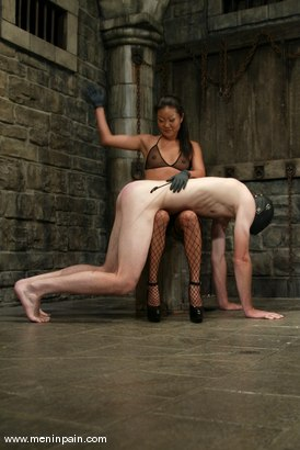 Photo number 6 from Lucy Lee and Jack shot for Men In Pain on Kink.com. Featuring Lucy Lee and Jack in hardcore BDSM & Fetish porn.