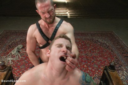 Photo number 14 from A New Dom and Sub #316 shot for Bound Gods on Kink.com. Featuring Sebastian Keys and Adam Herst in hardcore BDSM & Fetish porn.
