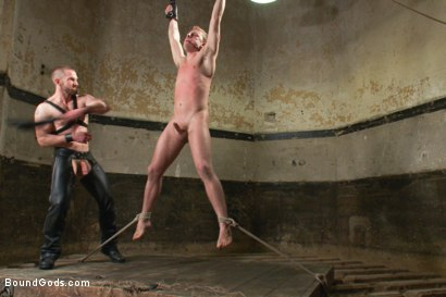 Photo number 8 from A New Dom and Sub #316 shot for Bound Gods on Kink.com. Featuring Sebastian Keys and Adam Herst in hardcore BDSM & Fetish porn.