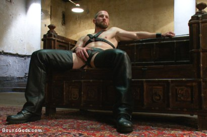 Photo number 1 from A New Dom and Sub #316 shot for Bound Gods on Kink.com. Featuring Sebastian Keys and Adam Herst in hardcore BDSM & Fetish porn.