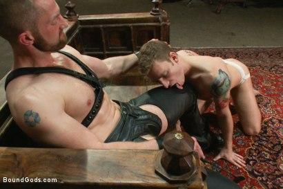Photo number 2 from A New Dom and Sub #316 shot for Bound Gods on Kink.com. Featuring Sebastian Keys and Adam Herst in hardcore BDSM & Fetish porn.