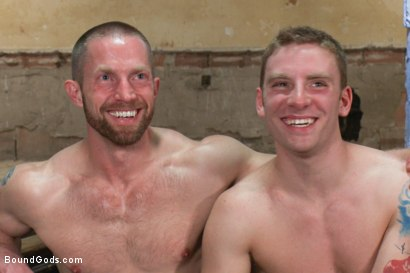 Photo number 15 from A New Dom and Sub #316 shot for Bound Gods on Kink.com. Featuring Sebastian Keys and Adam Herst in hardcore BDSM & Fetish porn.