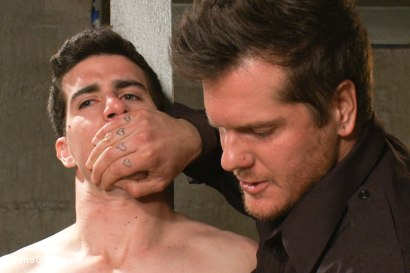 Photo number 2 from Stay out of the fucking fast lane! shot for Bound Gods on Kink.com. Featuring Parker London and Tyler Alexander in hardcore BDSM & Fetish porn.