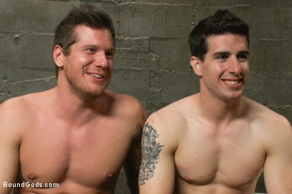 Photo number 15 from Stay out of the fucking fast lane! shot for Bound Gods on Kink.com. Featuring Parker London and Tyler Alexander in hardcore BDSM & Fetish porn.