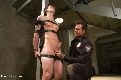 Photo number 5 from Stay out of the fucking fast lane! shot for Bound Gods on Kink.com. Featuring Parker London and Tyler Alexander in hardcore BDSM & Fetish porn.