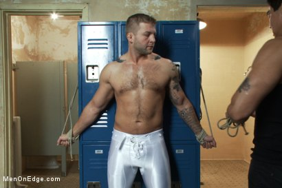 Photo number 1 from Colby Jansen - Straight Rugby Player shot for Men On Edge on Kink.com. Featuring Colby Jansen in hardcore BDSM & Fetish porn.