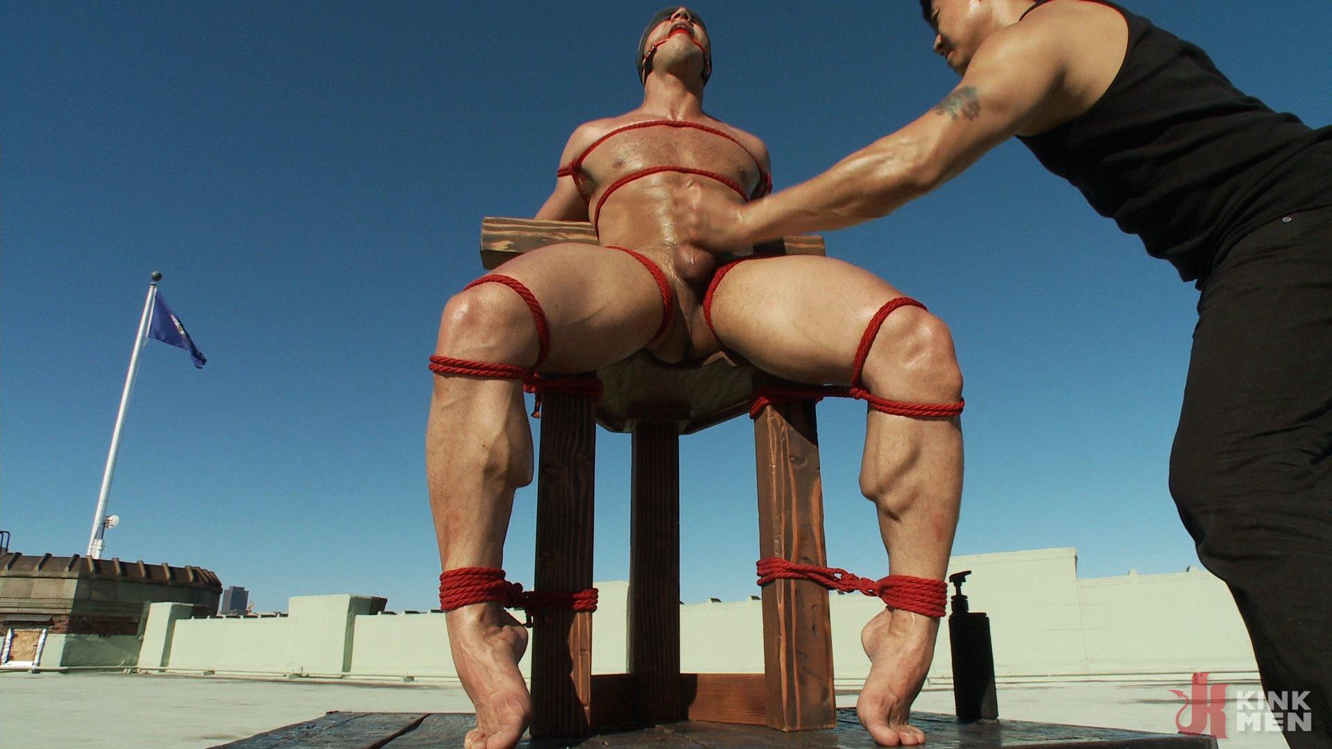 Photo number 14 from John Magnum - The Bodybuilder shot for Men On Edge on Kink.com. Featuring John Magnum in hardcore BDSM & Fetish porn.