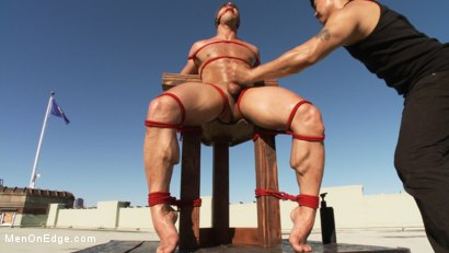 Photo number 14 from John Magnum - The Bodybuilder shot for Men On Edge on Kink.com. Featuring John Magnum in hardcore BDSM & Fetish porn.