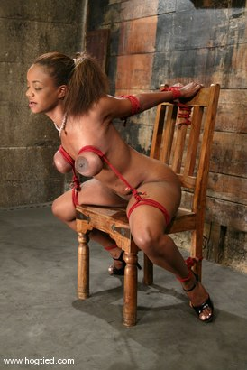 Photo number 3 from Sinnamon Love shot for Hogtied on Kink.com. Featuring Sinnamon Love in hardcore BDSM & Fetish porn.