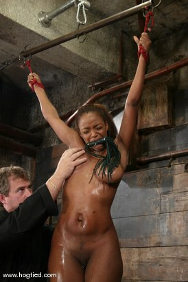 Photo number 7 from Sinnamon Love shot for Hogtied on Kink.com. Featuring Sinnamon Love in hardcore BDSM & Fetish porn.