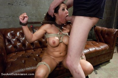 Photo number 12 from The Cheating Wife: Francesca Le Brutally Punished with Rough Sex and Bondage! shot for Sex And Submission on Kink.com. Featuring Francesca Le  and Mark Wood in hardcore BDSM & Fetish porn.