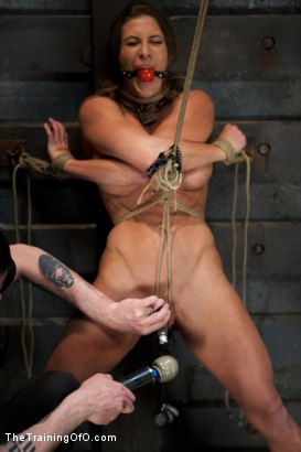 Photo number 3 from Training Ariel X - Extreme Endurance shot for The Training Of O on Kink.com. Featuring Ariel X in hardcore BDSM & Fetish porn.