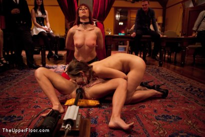 Photo number 11 from Slave Initiation: buffy  shot for The Upper Floor on Kink.com. Featuring Ariel X and Odile in hardcore BDSM & Fetish porn.