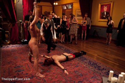 Photo number 15 from Slave Initiation: buffy  shot for The Upper Floor on Kink.com. Featuring Ariel X and Odile in hardcore BDSM & Fetish porn.