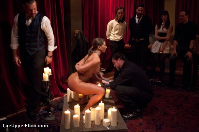 Photo number 2 from Slave Initiation: buffy  shot for The Upper Floor on Kink.com. Featuring Ariel X and Odile in hardcore BDSM & Fetish porn.