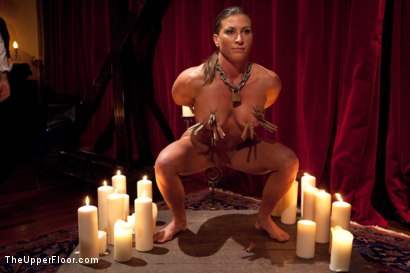 Photo number 3 from Slave Initiation: buffy  shot for The Upper Floor on Kink.com. Featuring Ariel X and Odile in hardcore BDSM & Fetish porn.