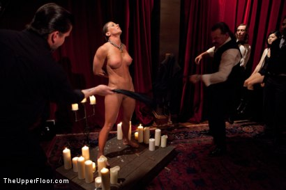 Photo number 5 from Slave Initiation: buffy  shot for The Upper Floor on Kink.com. Featuring Ariel X and Odile in hardcore BDSM & Fetish porn.