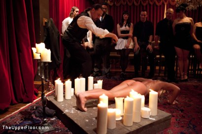 Photo number 4 from Slave Initiation: buffy  shot for The Upper Floor on Kink.com. Featuring Ariel X and Odile in hardcore BDSM & Fetish porn.