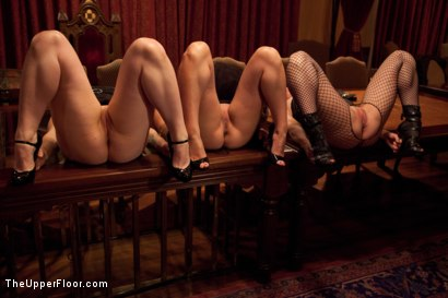 Photo number 6 from Slave Initiation: buffy  shot for The Upper Floor on Kink.com. Featuring Ariel X and Odile in hardcore BDSM & Fetish porn.