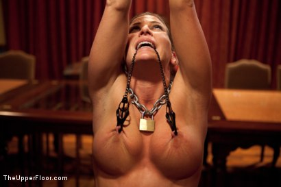 Photo number 8 from Slave Initiation: buffy  shot for The Upper Floor on Kink.com. Featuring Ariel X and Odile in hardcore BDSM & Fetish porn.
