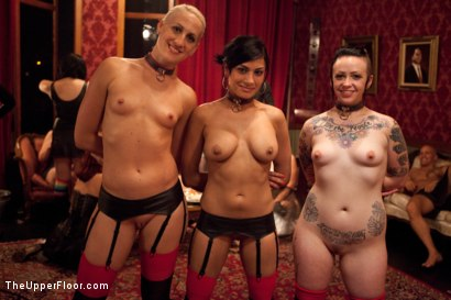 Photo number 7 from House Party: Leather Appreciation  shot for The Upper Floor on Kink.com. Featuring Dylan Ryan, Beretta James, Derrick Pierce, Sparky Sin Claire, Iona Grace and Jack Hammer in hardcore BDSM & Fetish porn.