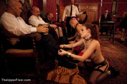 Photo number 13 from House Party: Leather Appreciation  shot for The Upper Floor on Kink.com. Featuring Dylan Ryan, Beretta James, Derrick Pierce, Sparky Sin Claire, Iona Grace and Jack Hammer in hardcore BDSM & Fetish porn.