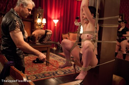 Photo number 14 from House Party: Leather Appreciation  shot for The Upper Floor on Kink.com. Featuring Dylan Ryan, Beretta James, Derrick Pierce, Sparky Sin Claire, Iona Grace and Jack Hammer in hardcore BDSM & Fetish porn.