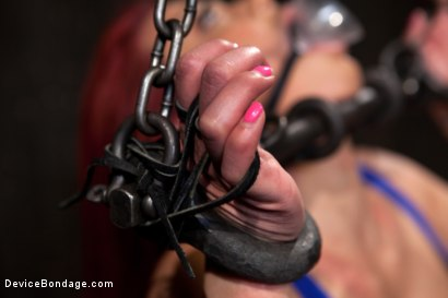 Photo number 14 from Voluptuous Mia Lelani is pushed to the limit. How much torment can she take? shot for Device Bondage on Kink.com. Featuring Mia Lelani in hardcore BDSM & Fetish porn.