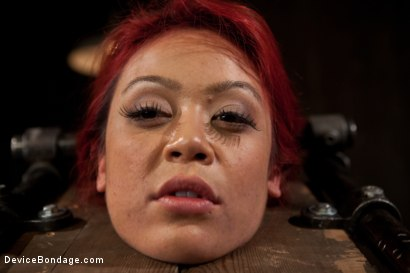 Photo number 5 from Voluptuous Mia Lelani is pushed to the limit. How much torment can she take? shot for Device Bondage on Kink.com. Featuring Mia Lelani in hardcore BDSM & Fetish porn.
