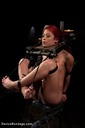 Photo number 6 from Voluptuous Mia Lelani is pushed to the limit. How much torment can she take? shot for Device Bondage on Kink.com. Featuring Mia Lelani in hardcore BDSM & Fetish porn.