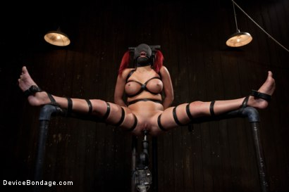 Photo number 9 from Voluptuous Mia Lelani is pushed to the limit. How much torment can she take? shot for Device Bondage on Kink.com. Featuring Mia Lelani in hardcore BDSM & Fetish porn.