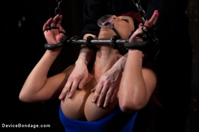 Photo number 2 from Voluptuous Mia Lelani is pushed to the limit. How much torment can she take? shot for Device Bondage on Kink.com. Featuring Mia Lelani in hardcore BDSM & Fetish porn.