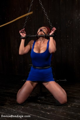 Photo number 4 from Voluptuous Mia Lelani is pushed to the limit. How much torment can she take? shot for Device Bondage on Kink.com. Featuring Mia Lelani in hardcore BDSM & Fetish porn.