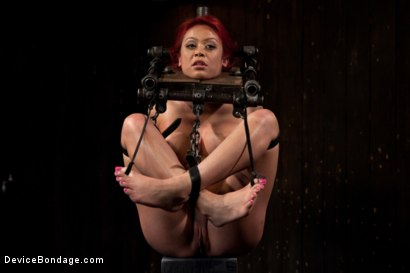Photo number 7 from Voluptuous Mia Lelani is pushed to the limit. How much torment can she take? shot for Device Bondage on Kink.com. Featuring Mia Lelani in hardcore BDSM & Fetish porn.