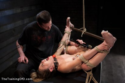 Photo number 14 from 50 Shades of...<br>Slave Training of Kristina Rose shot for The Training Of O on Kink.com. Featuring Kristina Rose, Naidyne, Coral Aorta and Ruby Song in hardcore BDSM & Fetish porn.