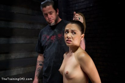 Photo number 3 from 50 Shades of...<br>Slave Training of Kristina Rose shot for The Training Of O on Kink.com. Featuring Kristina Rose, Naidyne, Coral Aorta and Ruby Song in hardcore BDSM & Fetish porn.