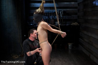 Photo number 9 from 50 Shades of...<br>Slave Training of Kristina Rose shot for The Training Of O on Kink.com. Featuring Kristina Rose, Naidyne, Coral Aorta and Ruby Song in hardcore BDSM & Fetish porn.