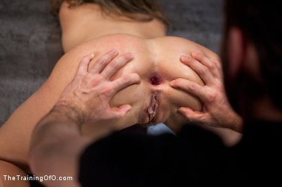 Photo number 8 from Kristina Rose: Day Two shot for The Training Of O on Kink.com. Featuring Kristina Rose and James Deen in hardcore BDSM & Fetish porn.