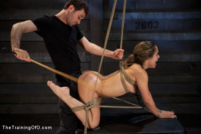 Photo number 14 from Kristina Rose: Day Two shot for The Training Of O on Kink.com. Featuring Kristina Rose and James Deen in hardcore BDSM & Fetish porn.