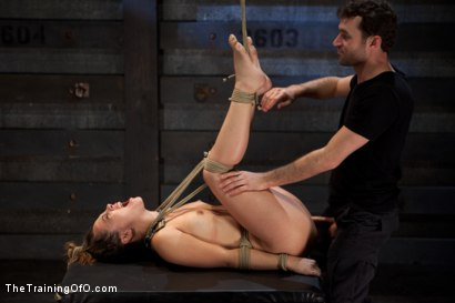 Photo number 18 from Kristina Rose: Day Two shot for The Training Of O on Kink.com. Featuring Kristina Rose and James Deen in hardcore BDSM & Fetish porn.