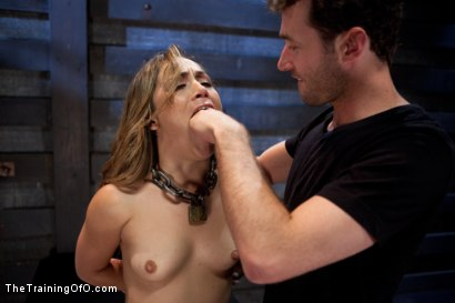 Photo number 5 from Kristina Rose: Day Two shot for The Training Of O on Kink.com. Featuring Kristina Rose and James Deen in hardcore BDSM & Fetish porn.