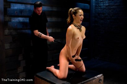 Photo number 10 from Kristina Rose-Day 4: Extended Training shot for The Training Of O on Kink.com. Featuring Kristina Rose and Maestro Stefanos in hardcore BDSM & Fetish porn.
