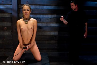 Photo number 12 from Kristina Rose-Day 4: Extended Training shot for The Training Of O on Kink.com. Featuring Kristina Rose and Maestro Stefanos in hardcore BDSM & Fetish porn.