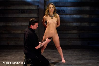 Photo number 14 from Kristina Rose-Day 4: Extended Training shot for The Training Of O on Kink.com. Featuring Kristina Rose and Maestro Stefanos in hardcore BDSM & Fetish porn.