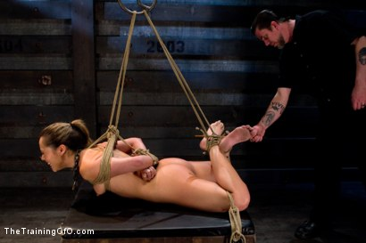 Photo number 5 from Kristina Rose-Day 4: Extended Training shot for The Training Of O on Kink.com. Featuring Kristina Rose and Maestro Stefanos in hardcore BDSM & Fetish porn.