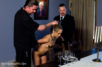 Photo number 7 from Kristina Rose-Day 4: Extended Training shot for The Training Of O on Kink.com. Featuring Kristina Rose and Maestro Stefanos in hardcore BDSM & Fetish porn.