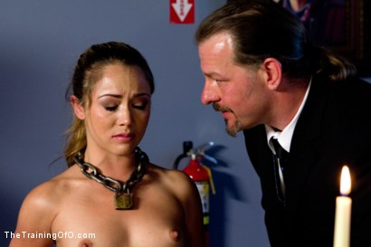 Photo number 9 from Kristina Rose-Day 4: Extended Training shot for The Training Of O on Kink.com. Featuring Kristina Rose and Maestro Stefanos in hardcore BDSM & Fetish porn.
