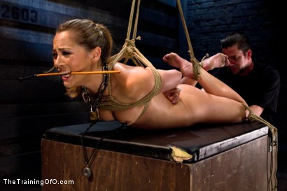 Photo number 4 from Kristina Rose-Day 4: Extended Training shot for The Training Of O on Kink.com. Featuring Kristina Rose and Maestro Stefanos in hardcore BDSM & Fetish porn.