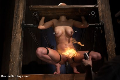 Photo number 11 from Cherry Torn - The Girl Who Plays With Fire shot for Device Bondage on Kink.com. Featuring Cherry Torn in hardcore BDSM & Fetish porn.